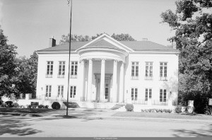 Habersham Memorial Hall October 10th, 1955 Georgia State University Library