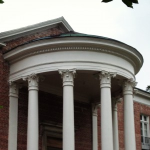 Habersham Memorial Hall Portico