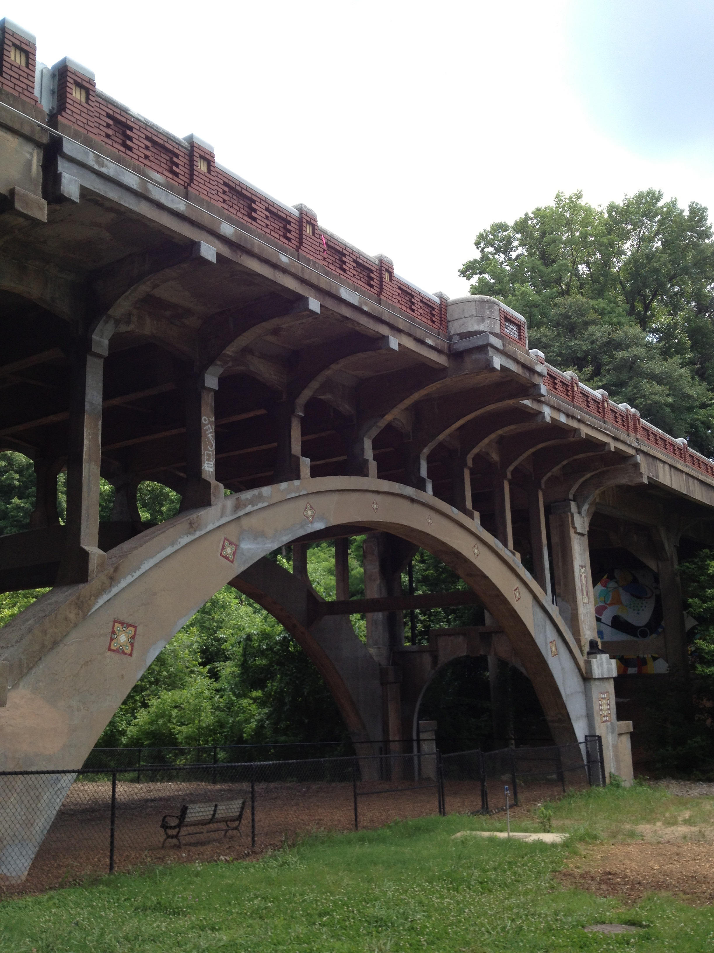Park Drive Bridge, Piedmont Park, Atlanta
