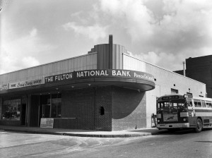 Briarcliff Plaza After Fulton National Bank April 12th, 1955 Georgia State University Library