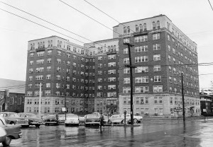 Candler Apartments AKA Briarcliff Hotel December 13th, 1956 Georgia State University Library