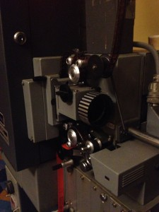 Fumeo X900 16mm Projector from Xetron Detail