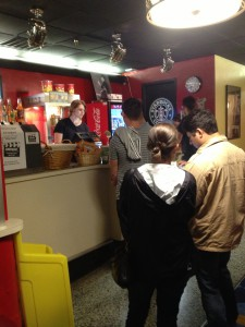 The Plaza Theatre Concession Stand
