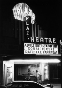 Plaza Theatre Showing Adult Films June 8th, 1979 Atlanta Journal Constitution Archives Georgia State Univeristy Library