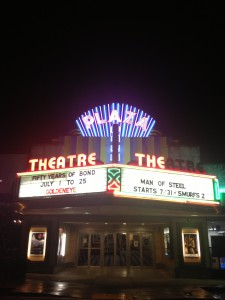 Plaza Theatre Night