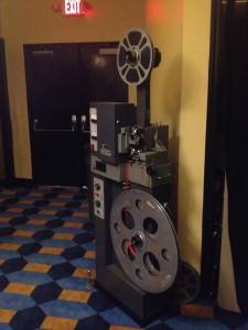 Plaza Theatre Old Fumeo X900 16mm Projector