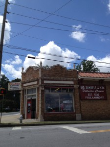 Sig Samuels Building Front History Atlanta