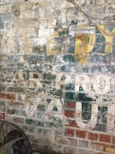 Sig Samuels Interior Old Painted Advertisement