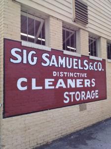 Sig Samuels Sign History Atlanta
