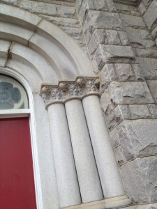 First Methodist Episcopal Church Exterior Columns History Atlanta 2013