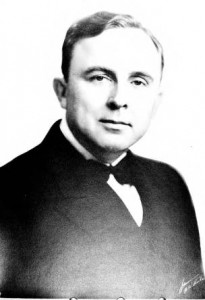 Governor Eurith Dickerson Rivers (1895-1967) who pardoned Gallogly and Harsh in 1941.