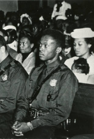 Officer Claude Dixon, The Youngest of The Eight at 21 Years Old Georgia State University Library