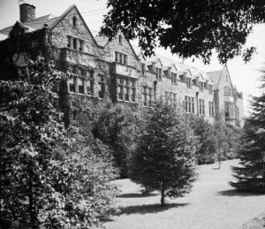 Oglethorpe University Buildings in 1941 Georgia State University Library