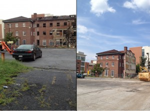 Before and After Crum Forster Building Left Sunday Sept 1, 2013 Right Thursday Sept 5, 2013 History Atlanta