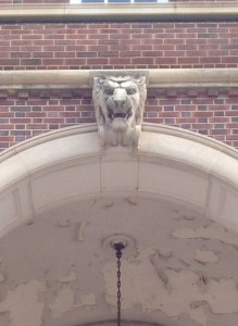 The Crum & Forster Building Front Detail Lion Arch Keystone History Atlanta 2013