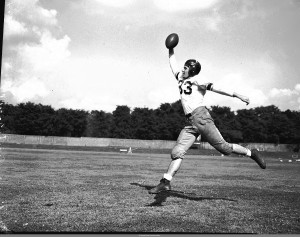 Georgia Tech Football Player Jimmy Castleberry In 1946, The Brother Of Clint Castleberry Georgia State University Library