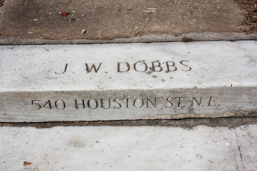 The Top Step At 540 John Wesley Dobbs Avenue Formerly Houston Street, The Family Home Of John Wesley Dobbs Photo By R. Keen 2013
