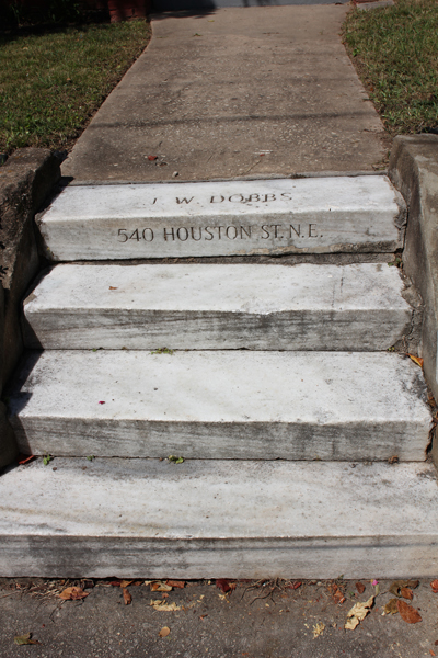 The Steps Leading To 540 John Wesley Dobbs Avenue, The Former Home Of John Wesley Dobbs Photo By R. Keen 2013