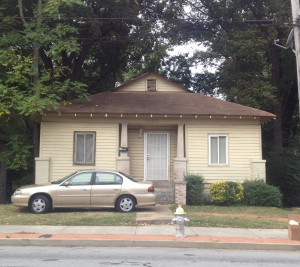 1117 Metropolitan Parkway (formerly Stewart Avenue) Home Of Minnie Lee Griffin & The Murder Scene In 1941 - History Atlanta 2013