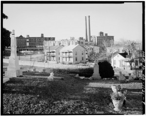 A General View Of Oakland Cemetery From The North In The 1930's - U.S. Library Of Congress