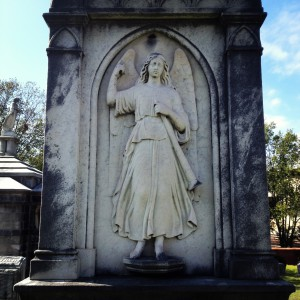 An Angel at Oakland Cemetery - History Atlanta 2013