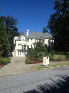 Eddie Guyol's Mansion and Headquarters At 1753 Pelham Road; It's Also Where He Was Gunned Down In 1935 - History Atlanta 2013