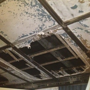 Ivy Hall Ceiling Before Renovation By SCAD In 2008 - SCAD Scrapbook