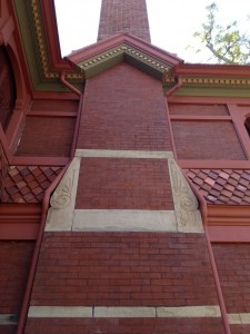 Ivy Hall Chimney Detail - History Atlanta 2013