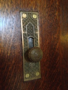 Ivy Hall Door Lock - History Atlanta 2013
