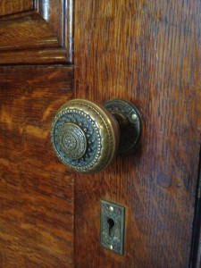 Ivy Hall Doorknob - History Atlanta 2013