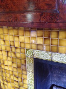 Ivy Hall Fireplace Tiles - History Atlanta 2013