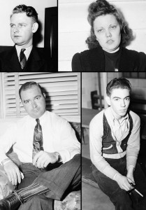 Just Some Of The Faces Hauled In By Police For Questioning In The Murder Of Mildred Seymour Williams; Unfortunately Names Are Not Included In The Digital Georgia State Library Archives