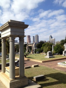 Started In 1850, Oakland Cemetery Provides Fantastic Views Of Downtown Atlanta - History Atlanta 2013