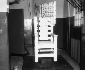 The Electric Chair At Tattnall Prison In 1943 - Georgia State University Library Archives
