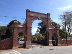 The Gate at Oakland Cemetery - History Atlanta 2013