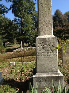 The Grave Of Laura Moorman Buried In Oakland Cemetery In 1879 - History Atlanta 2013