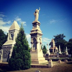 The Kiser Mausoleum In Historic Oakland Cemetery In Atlanta - History Atlanta 2013