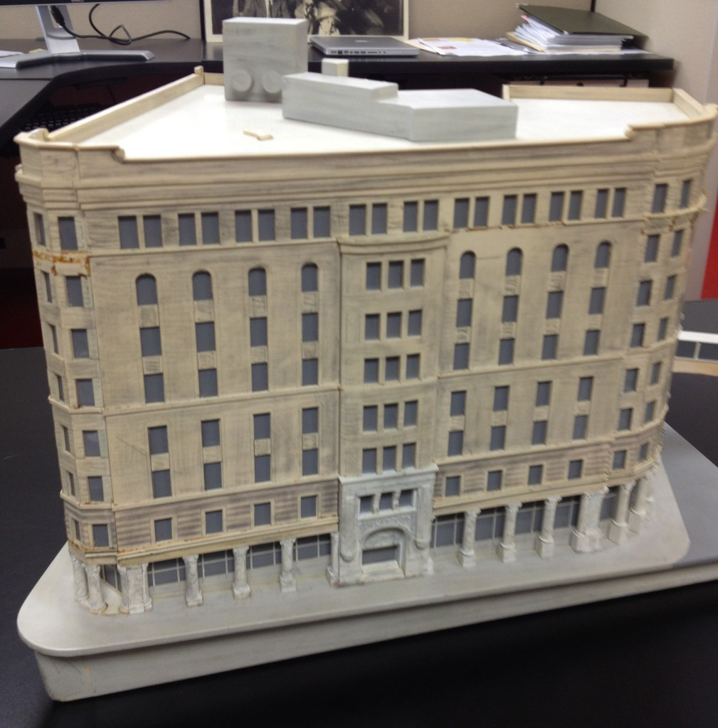 A Model Of The Equitable Building Constructed In 1965 From The Trust Company of Georgia Collection at Emory University's Manuscripts, Archives and Rare Books Library - History Atlanta 2013