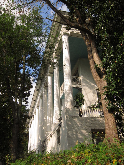 Peachtree Circle Apartments And The Leyden House Columns - Ray Keen 2013
