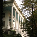 Peachtree Circle Apartments and The Old Leyden House Columns - Ray Keen 2013