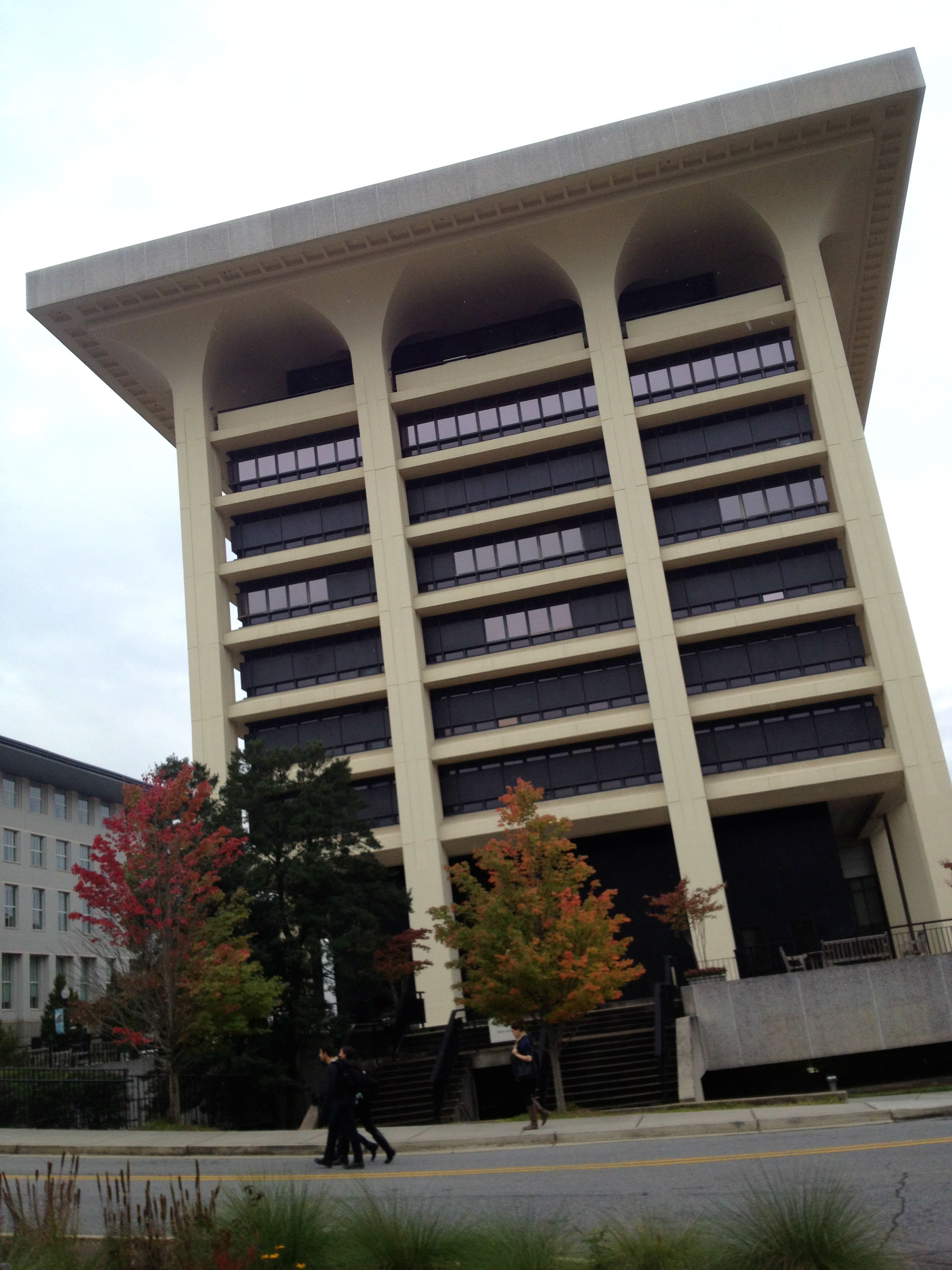 The Robert W. Woodruff University Library at Emory University; MARBL is Located on the 10th Floor - History Atlanta 2013