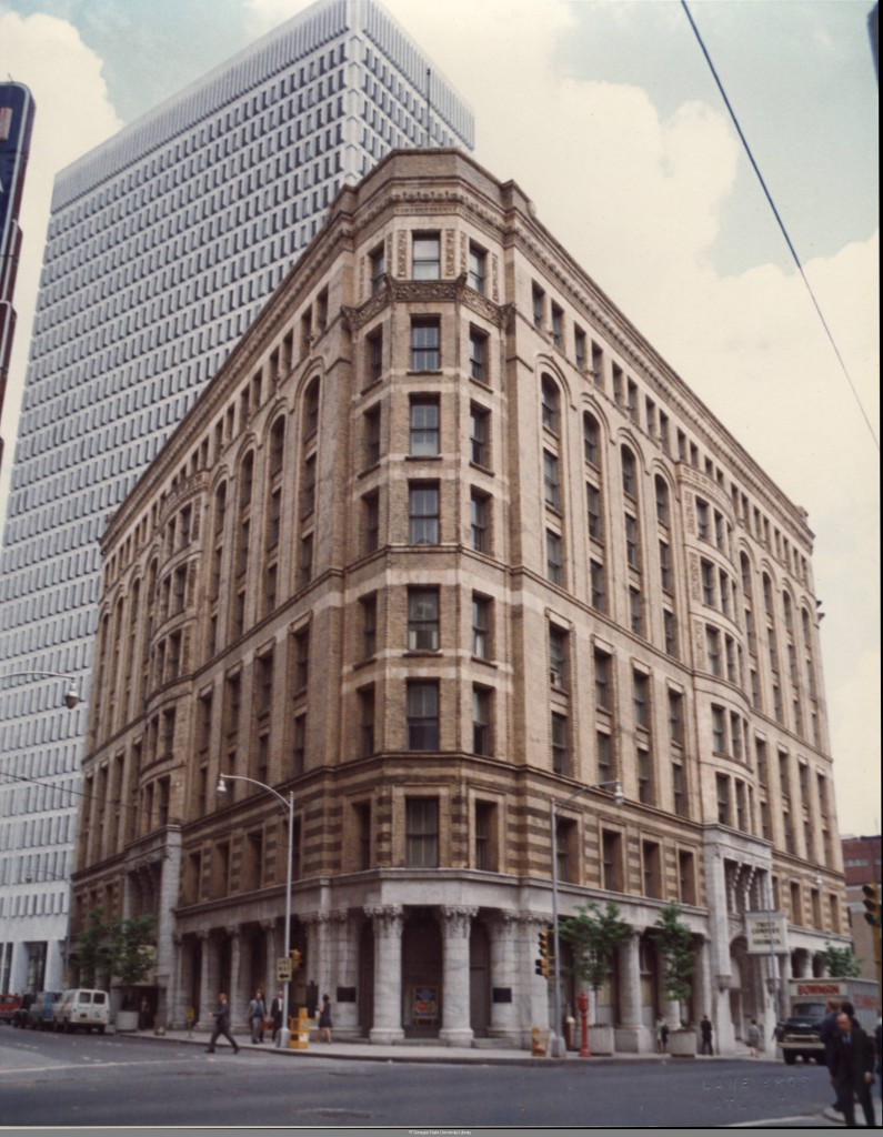 The Equitable Building With The New Trust Company Of Georgia Building In The Background Between 1968 And 1971 - Georgia State University Library