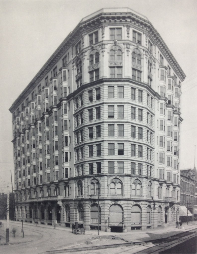 The Piedmont Hotel in a 1903 Book of Artwork and Pictures of Atlanta Buildings Held by MARBL at Emory - History Atlanta 2013