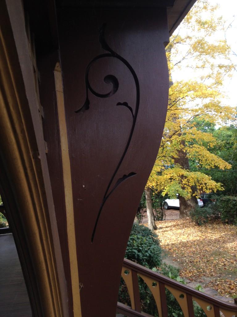 Wren's Nest Front Porch Details - History Atlanta 2013