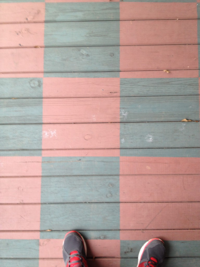 Hammonds House Museum Front Porch Floor - History Atlanta 2013