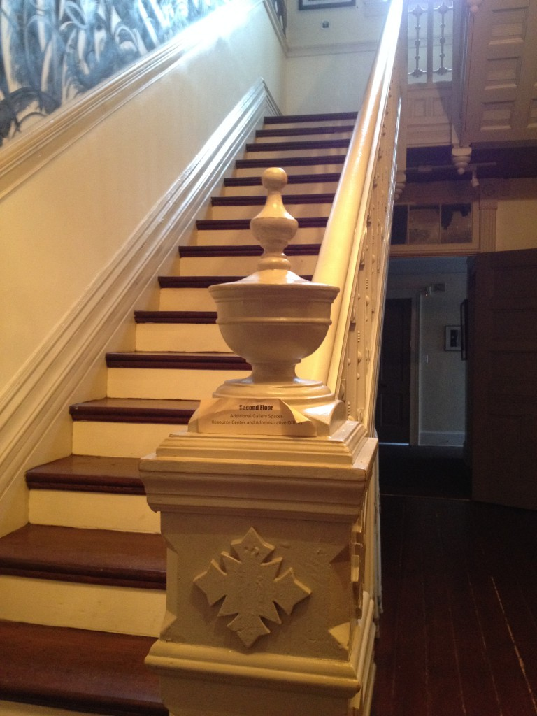 Hammonds House Museum Staircase - History Atlanta 2013