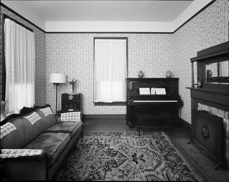 Martin Luther King, Jr. Birth Home Interior - U.S. Library of Congress