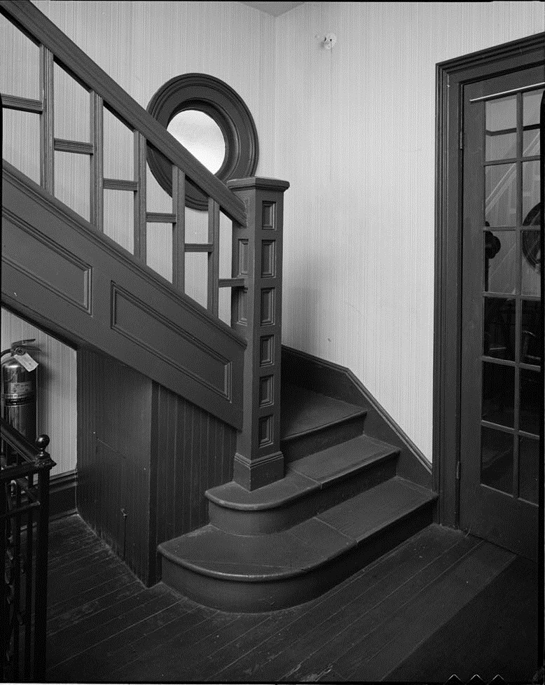 Martin Luther King Jr Birth Home Interior Stairs U S Library Of