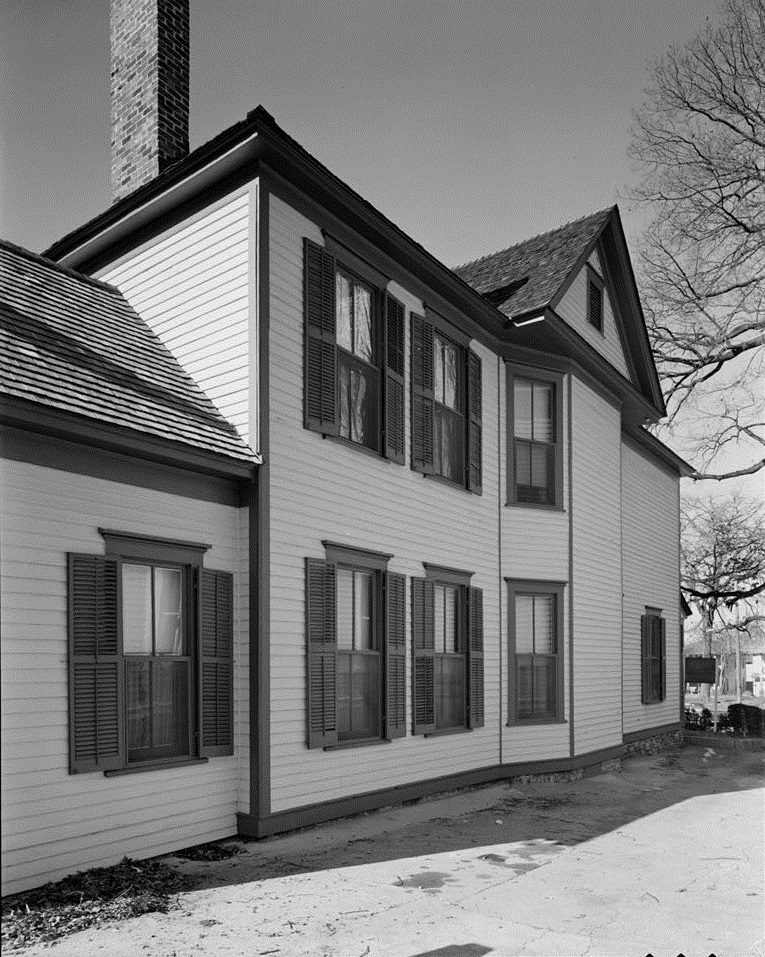Martin Luther King, Jr. Birth Home Side in the 1980's - U.S. Library of Congress