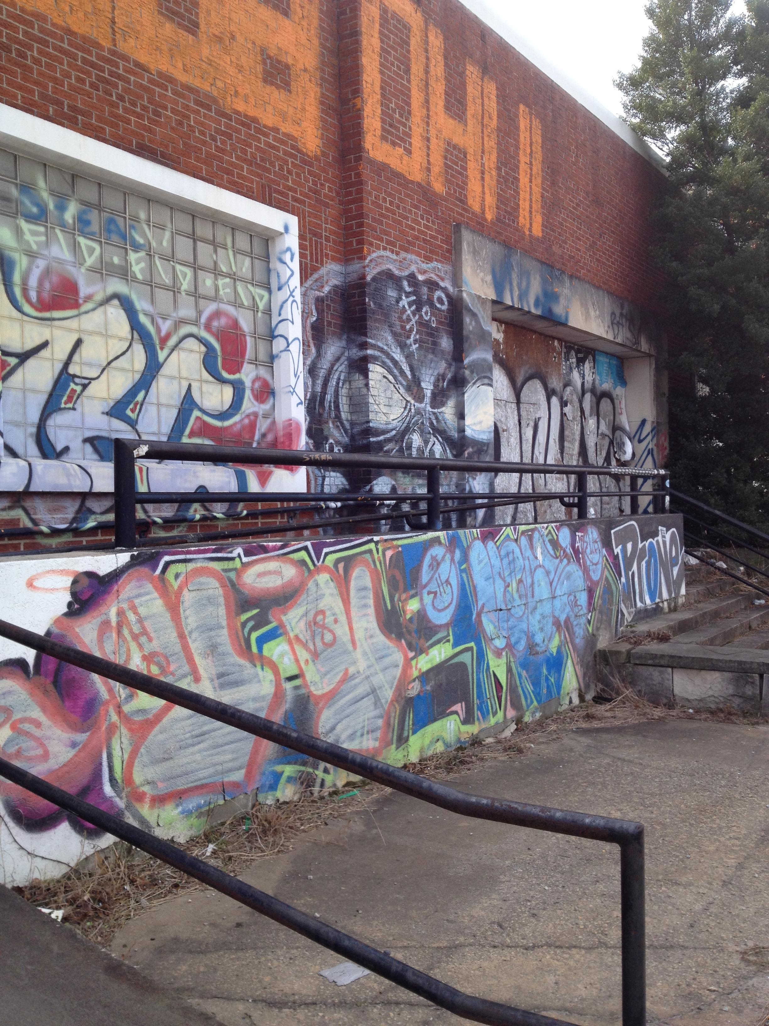 Memorial Drive Graffiti History Atlanta 2014